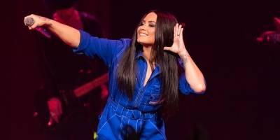 Tía de Demi Lovato dio declaraciones sobre el estado de salud de la cantante