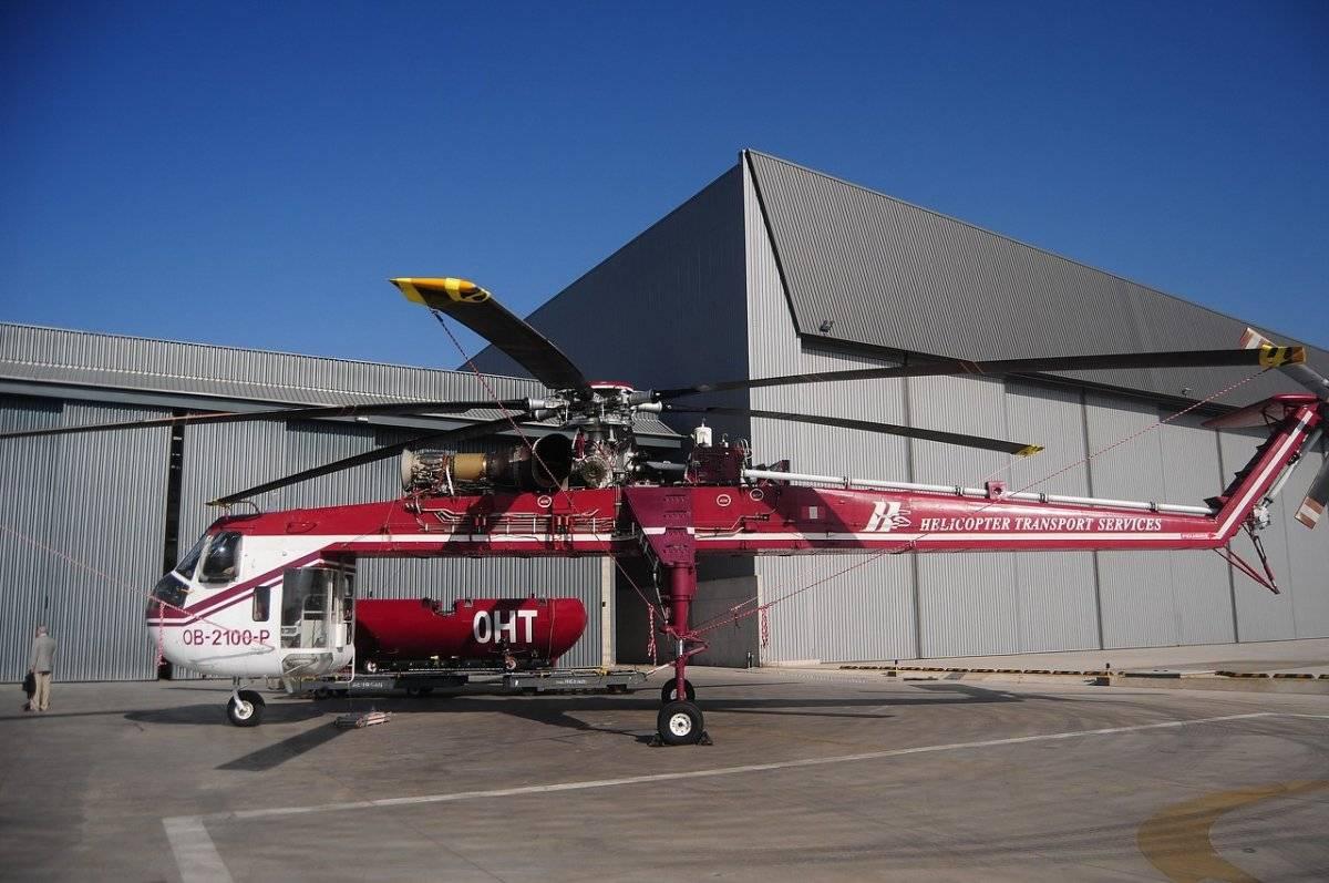 Helicóptero Conaf