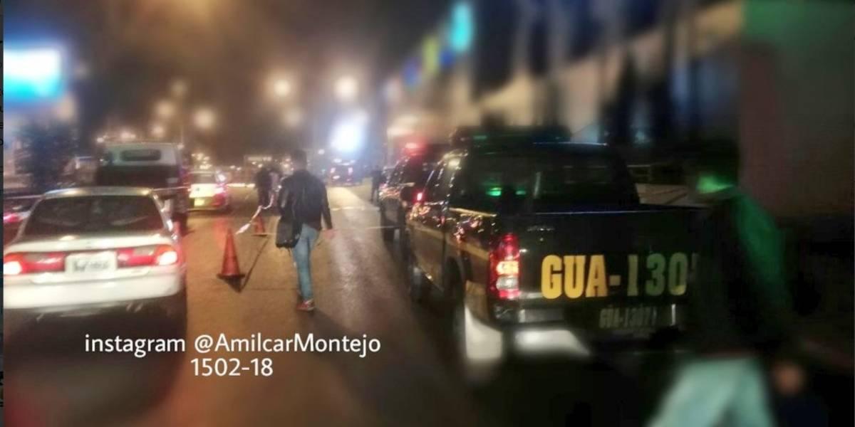 Ataque contra taxista complica el tránsito en bulevar Los Próceres