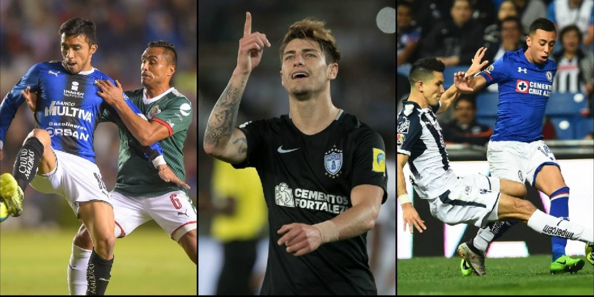 Edson Puch, Martín Rodríguez y Ángelo Sagal se llenaron de goles en México
