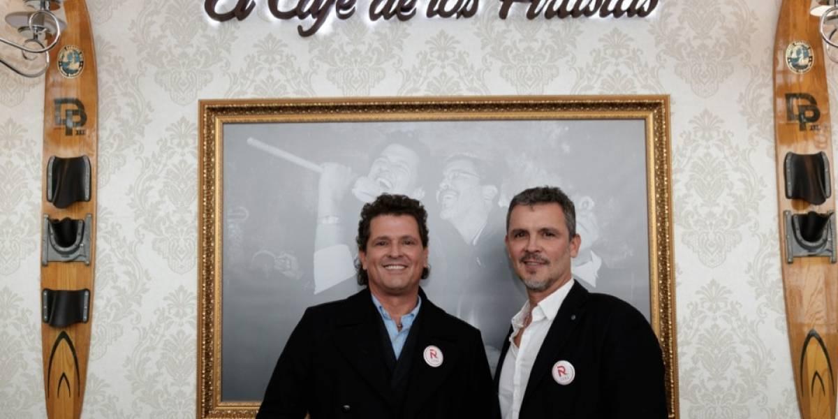 Guillermo y Carlos Vives inauguran nuevo punto de Gaira en el Aeropuerto El Dorado