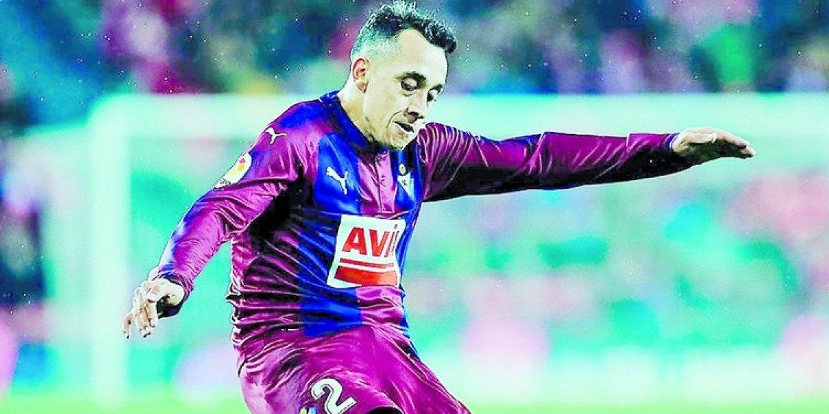 """En el Eibar están felices con el """"distinto"""" Orellana: """"Trajimos a un jugador que hace un tiempo no nos podíamos imaginar"""""""