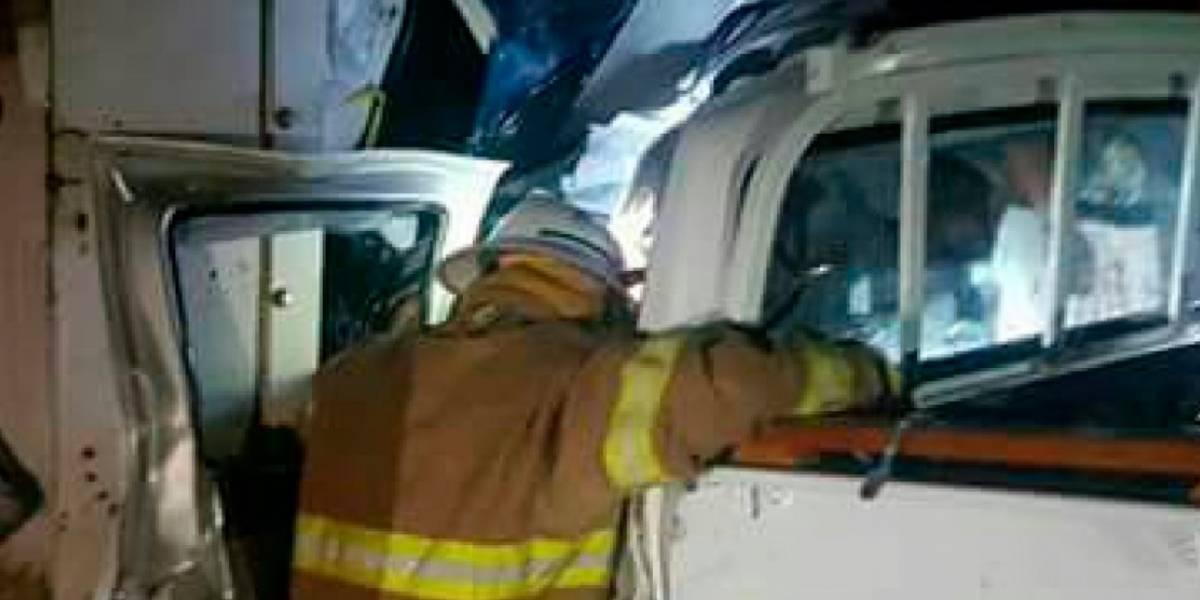 Seis fallecidos en un accidente de tránsito en Los Ríos