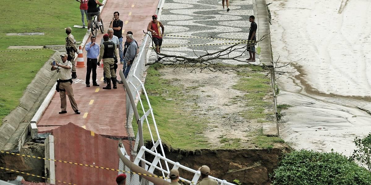 Chuva deixa 4 mortos no Rio de Janeiro