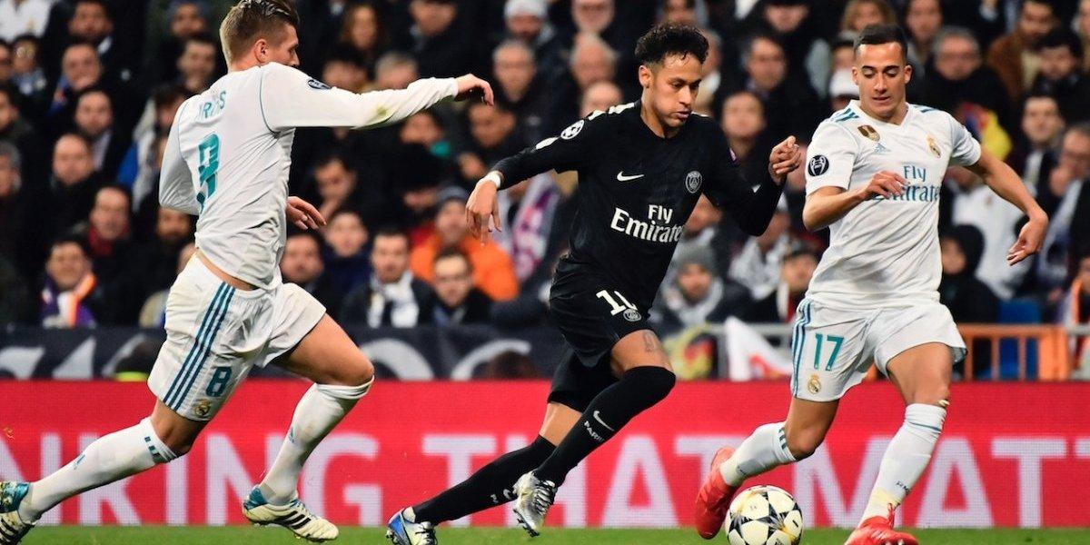 Imagen del Real Madrid-PSG aviva los rumores de que Neymar jugará con el club español