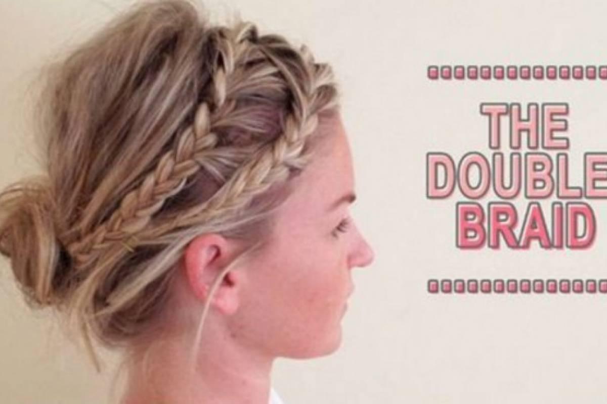 """Consigue una linda """"Double Braid"""" en pocos pasos"""