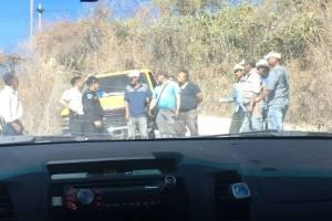 Ejecutivos de minera San Rafael retenidos