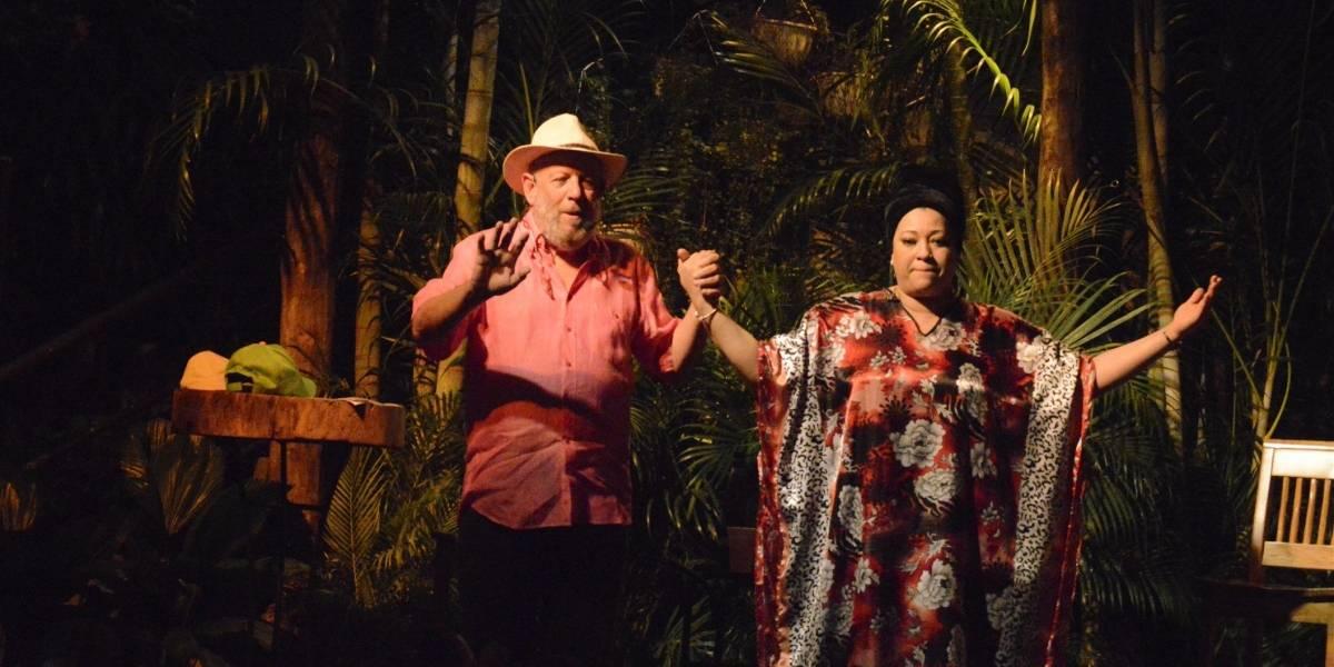 Diomari La Mala y Freddy Ginebra cantaron en Casa de Teatro