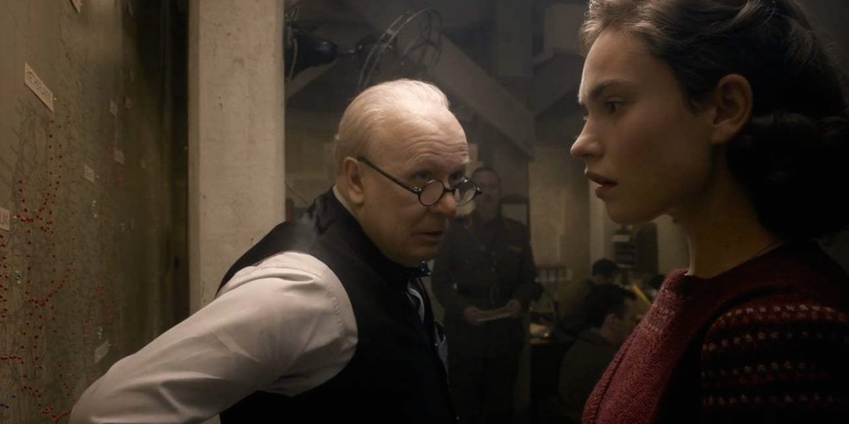 """Darkest Hour"": Lily James pasa de Cenicienta a la aliada Churchill"