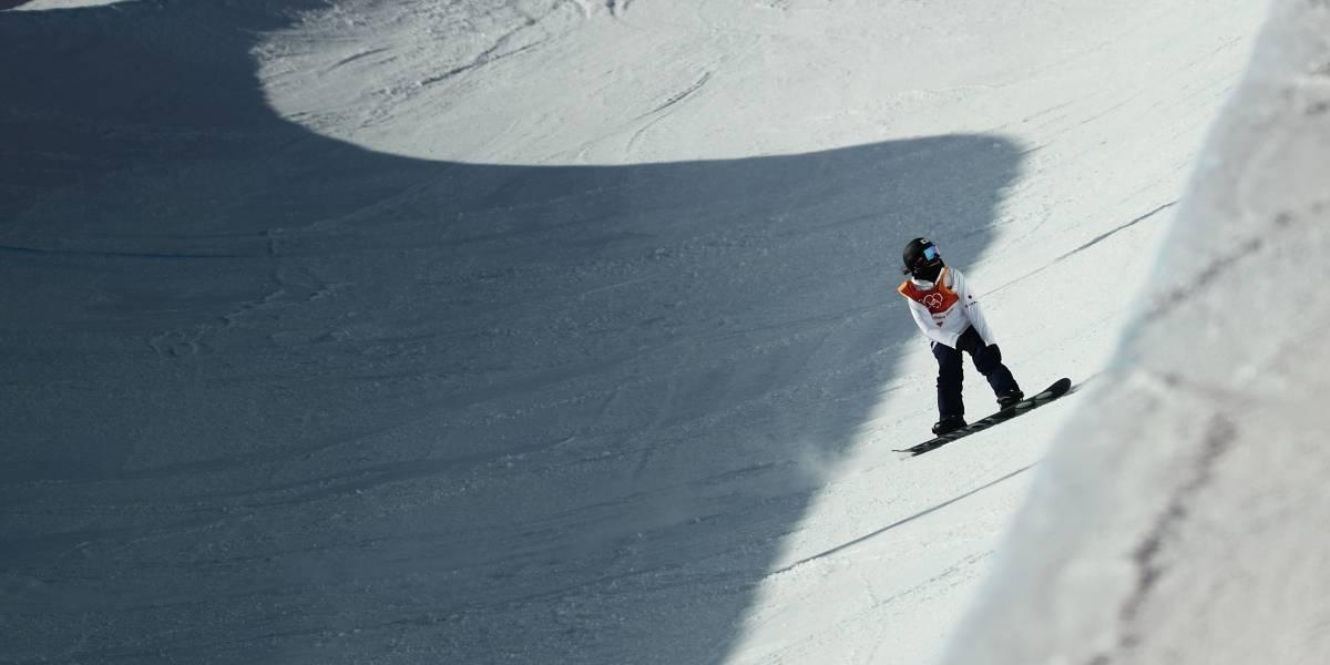 Com dores após queda em treino, Isabel Clark está fora das Olimpíadas de Inverno