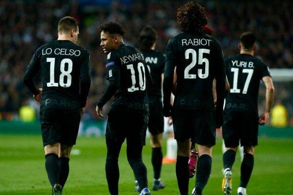 EL PSG lamenta la derrota / imagen: Getty Images