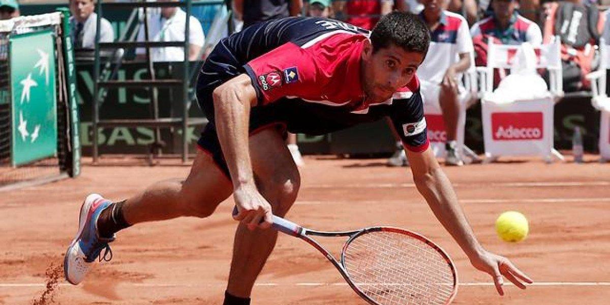 Podlipnik vio frenada su racha en dobles al caer en el ATP 250 de Buenos Aires