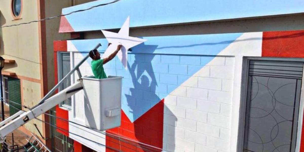 Pintarán bandera gigante en Loíza