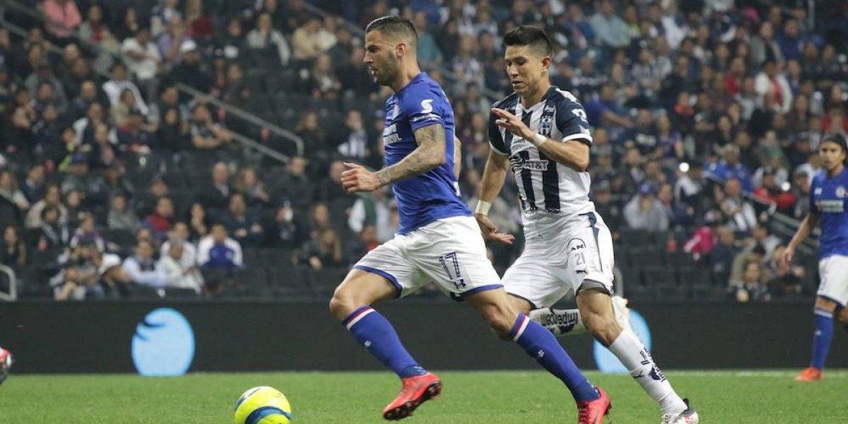 Monterrey deja escapar el triunfo ante Cruz Azul
