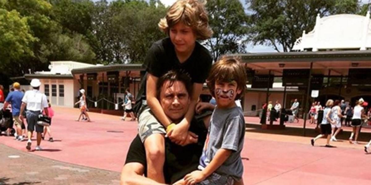 Murilo Rosa conta que o filho foi convidado para 'desafio do desodorante'