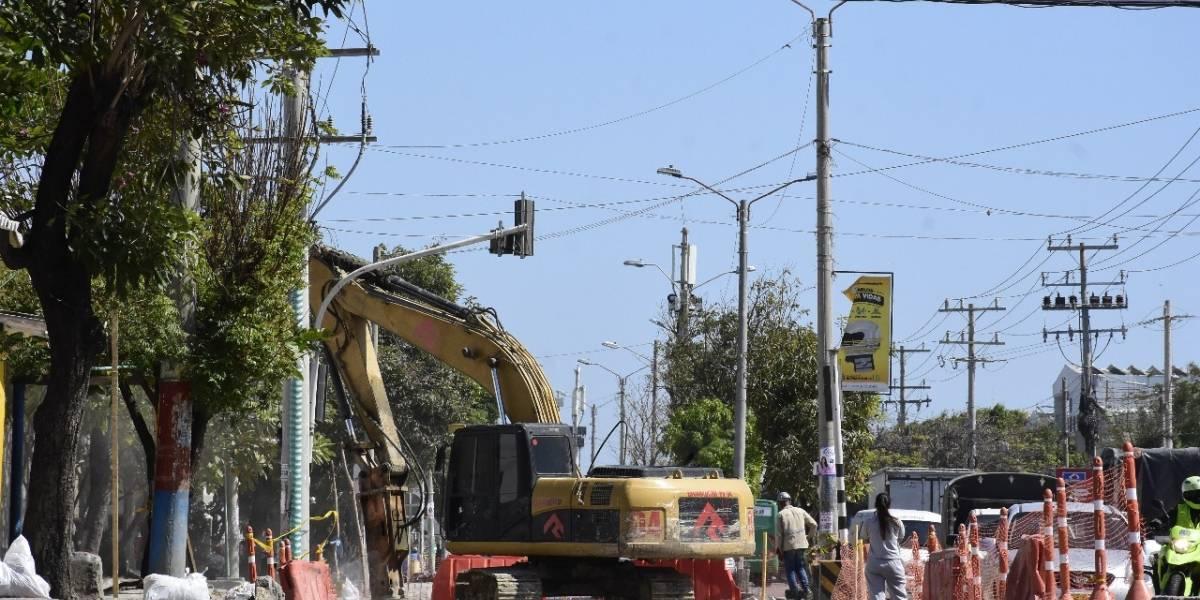 ¿El panorama de la Vía 40 de Barranquilla para cuándo?