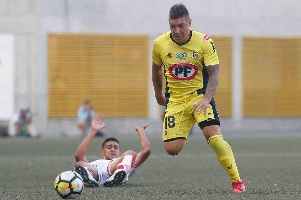 Christian Bravo jugará a préstamo durante todo el 2018 en San Luis de Quillota. Su pase pertenece a Unión Española / Foto: Photosport