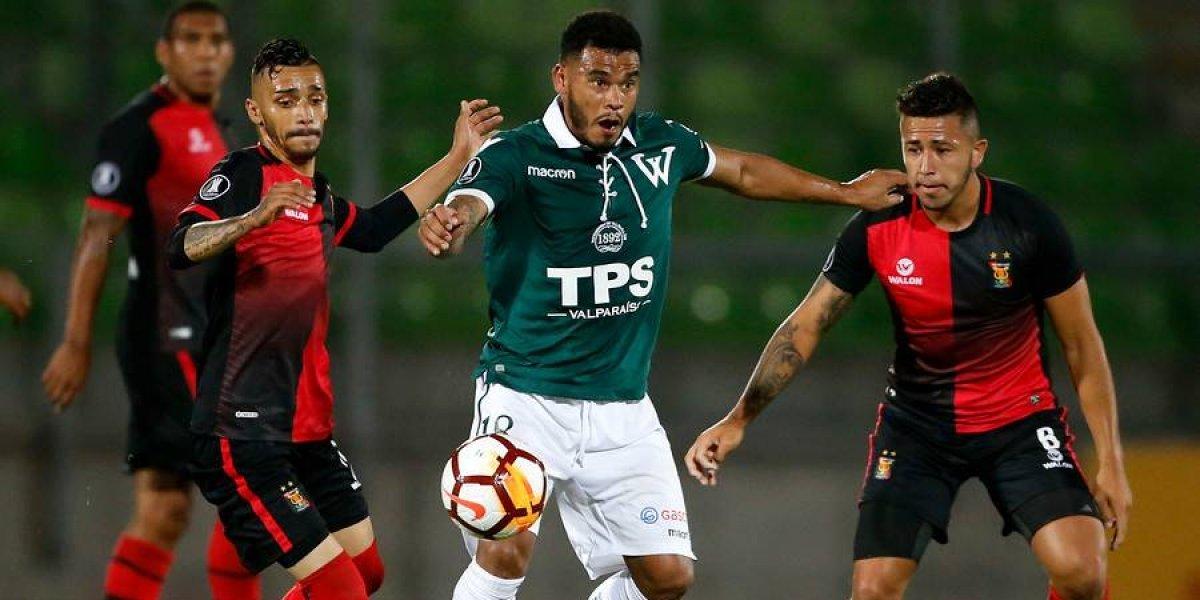 Sufre Wanderers: Rafael Viotti se lesionó y será baja por seis semanas