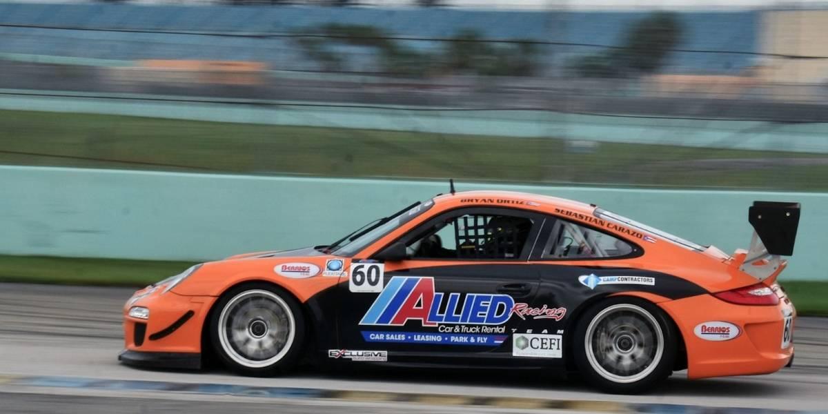 Piloto boricua listo para el Porsche Challenge en Miami