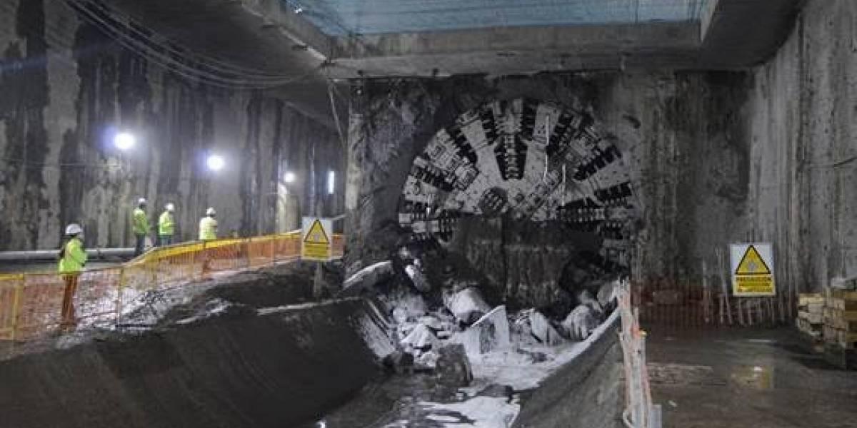 Tuneladora 'La Carolina' llegó a su primera estación: Morán Valverde