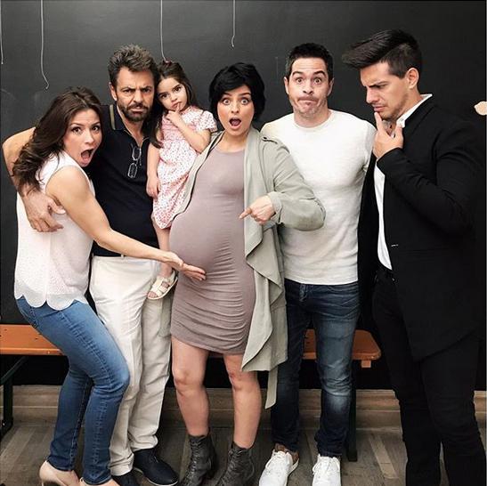 La familia Derbez.