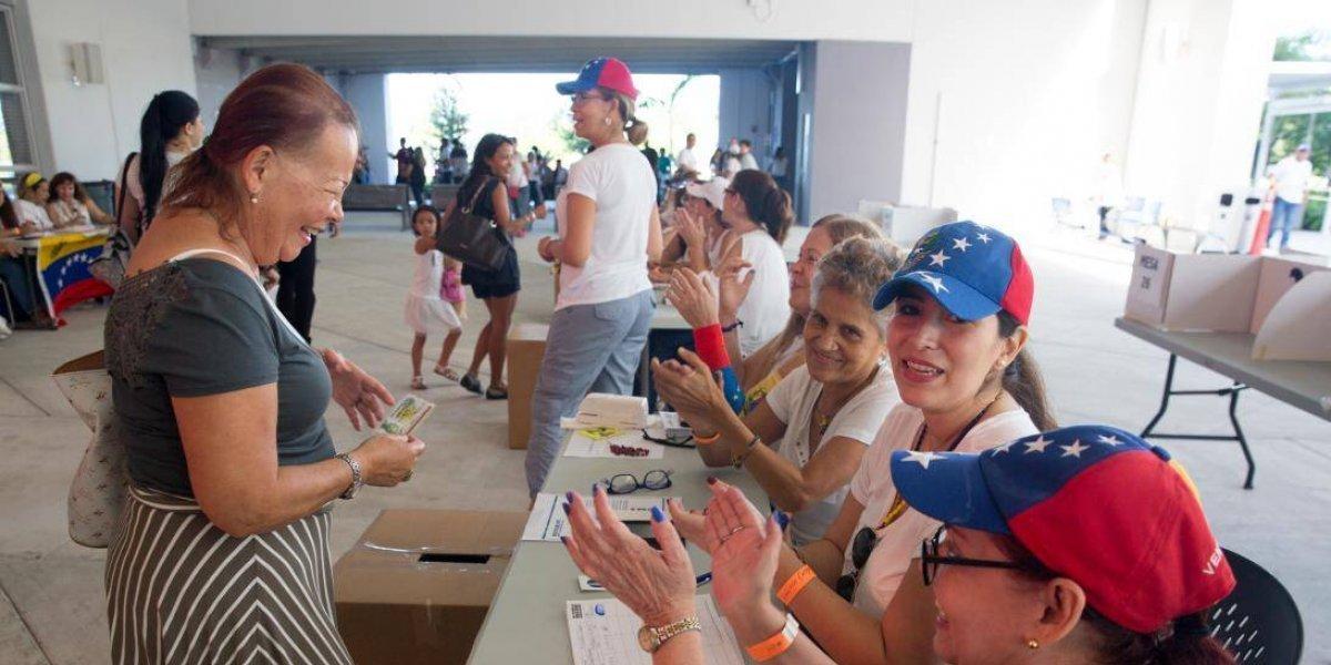 Venezolanos en Miami votarán en presidenciales
