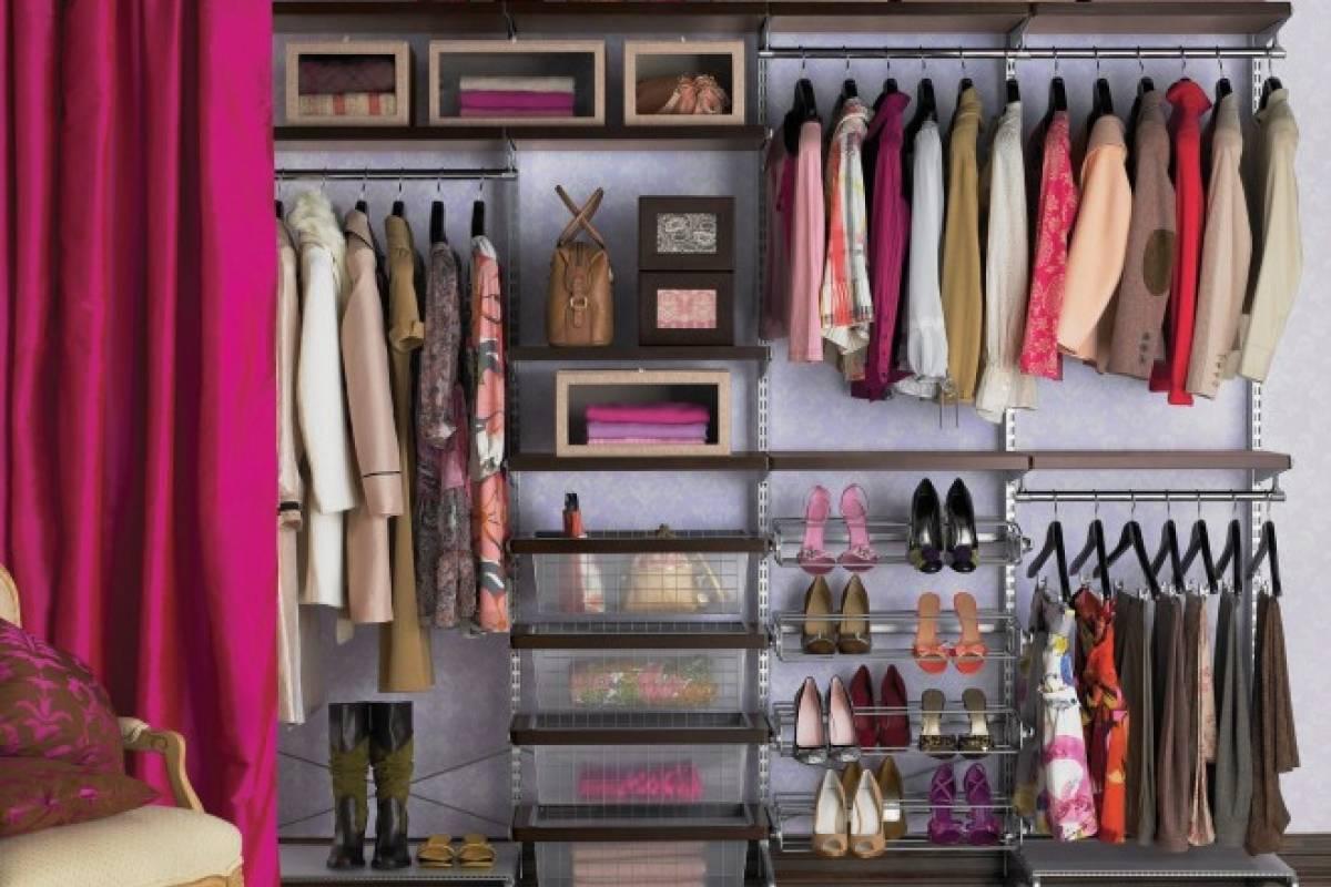Cmo organizar un vestidor pequeo Belel Nueva Mujer