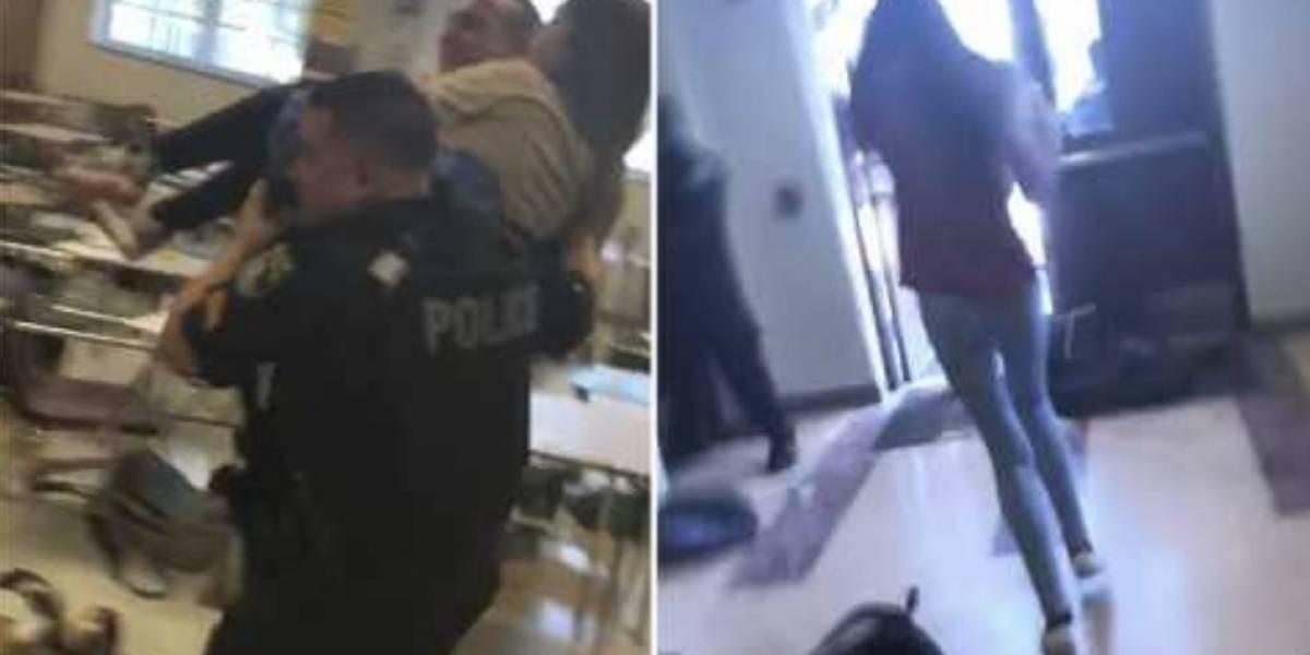 VIDEOS. Estudiantes grabaron los aterradores momentos del tiroteo en Florida