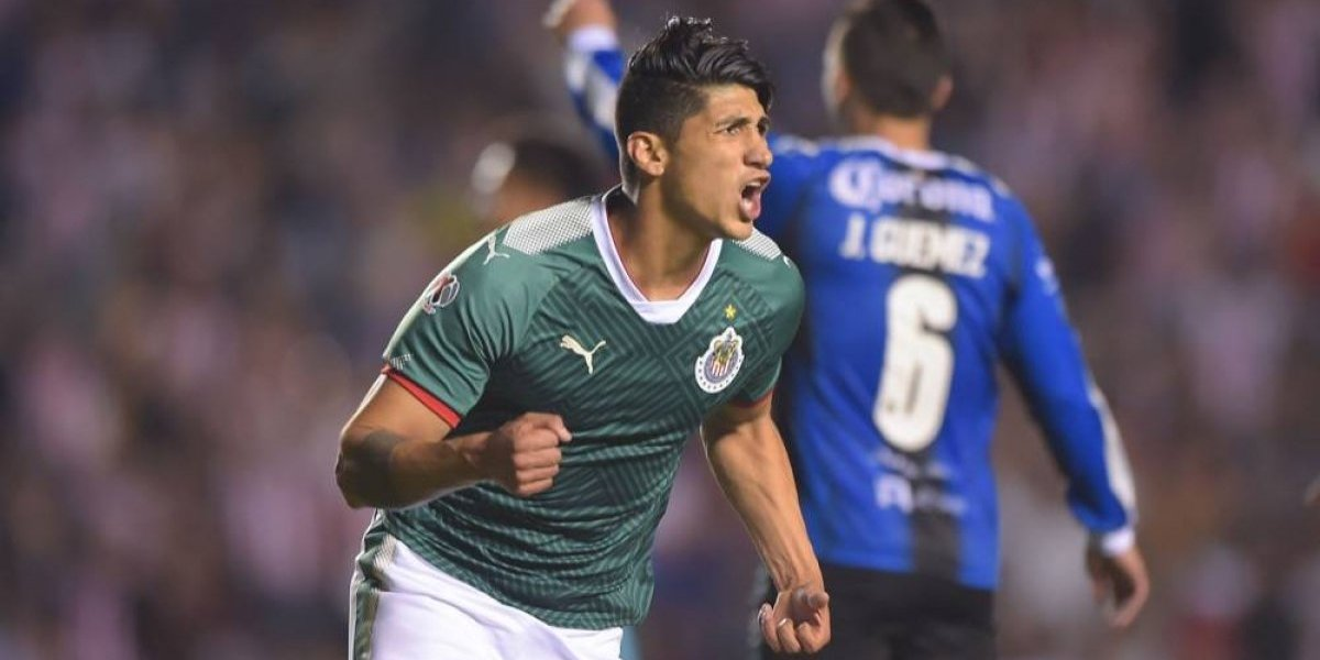 La emotiva dedicatoria de Alan Pulido