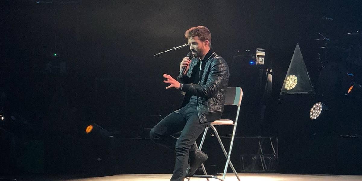 Pablo Alborán promete concierto sin límites