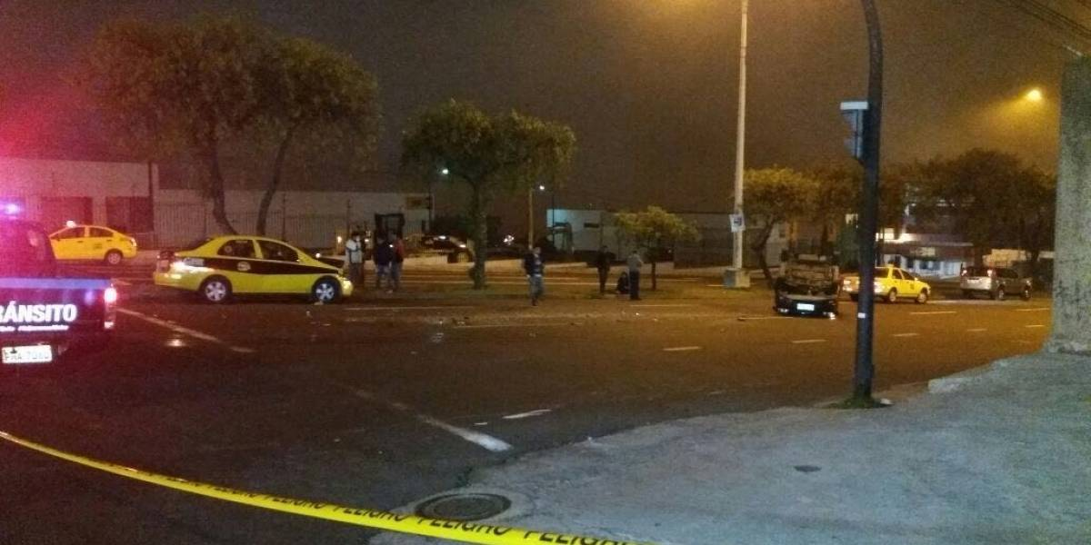 Siete heridos tras un accidente de tránsito en el norte de Quito