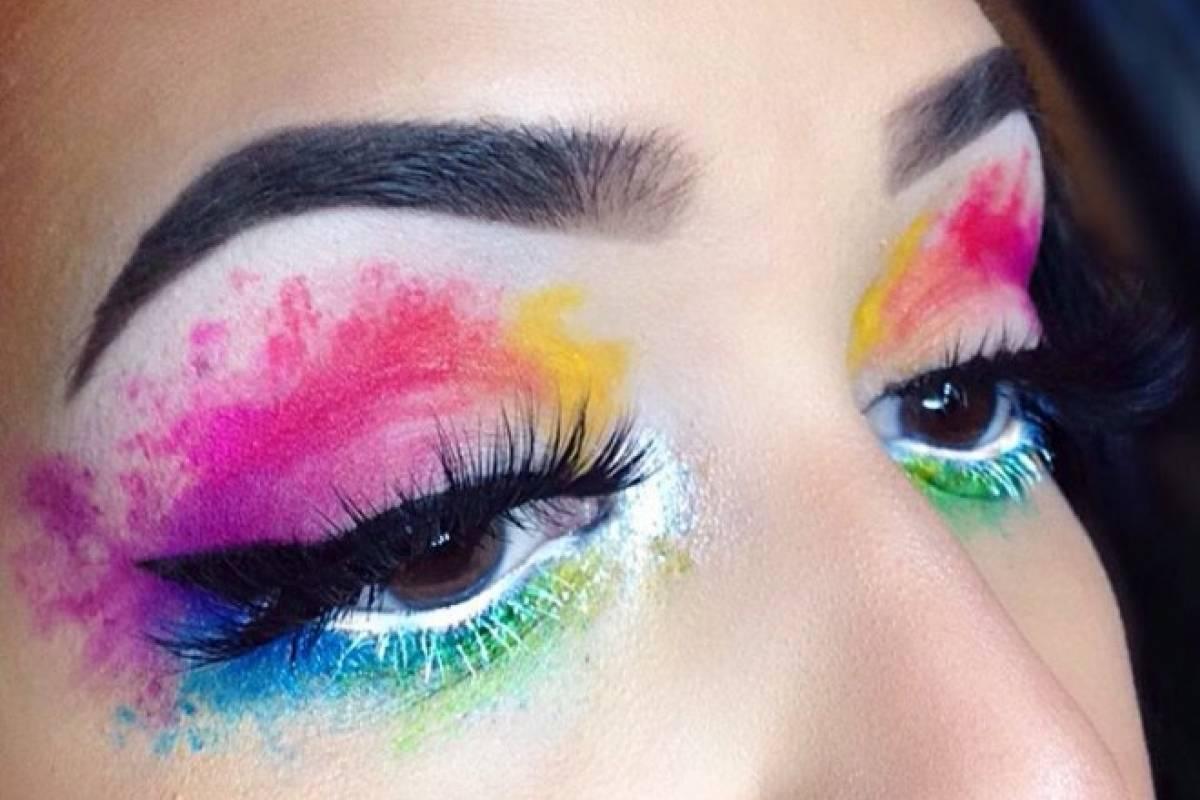 Maquillaje de acuarela: otra nueva forma de lucir tus ojos - Belelú ...