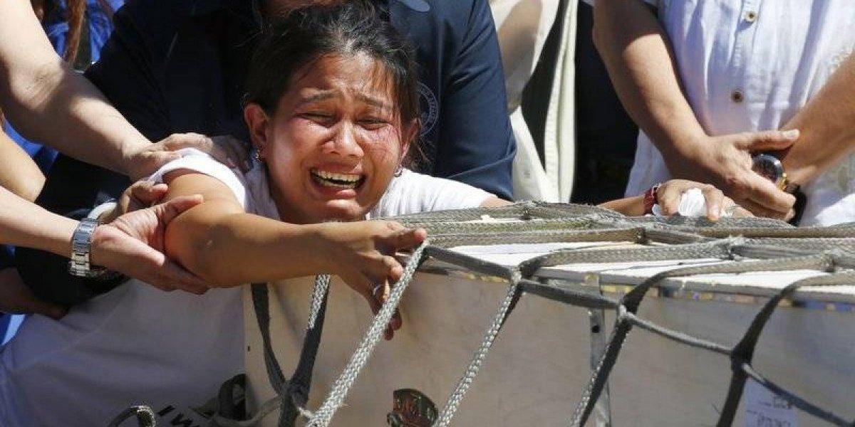 Filipina fue encontrada congelada en refrigerador en Kuwait