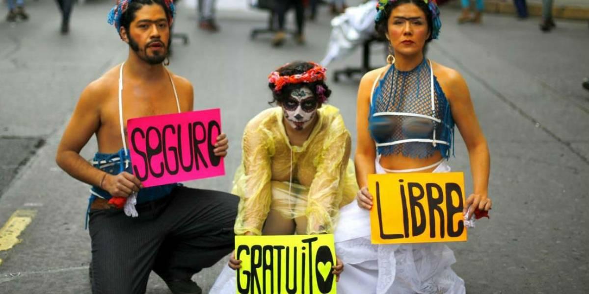Transmisión en vivo celebración despenalización del aborto 3 causales en Chile