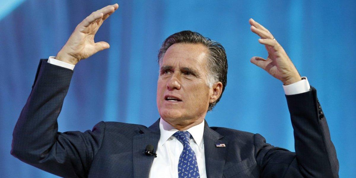 Mitt Romney regresa a la política
