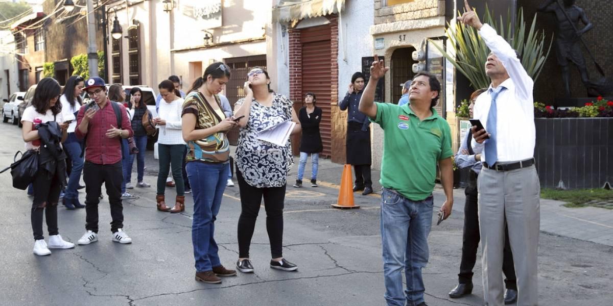 Sismo de 7,2 sacude el sur y centro de México