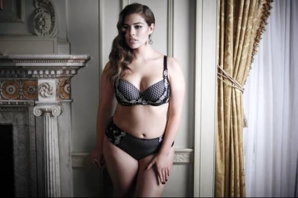 Ashley Graham Lanza Una Coleccion De Lenceria Plus Size Belelu Nueva Mujer