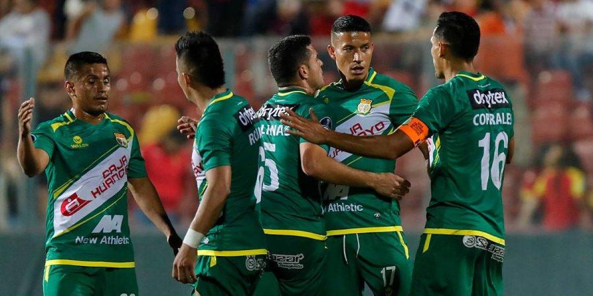 """El """"histórico"""" festejo de Sport Huancayo tras empatarle a Unión Española en Santa Laura"""