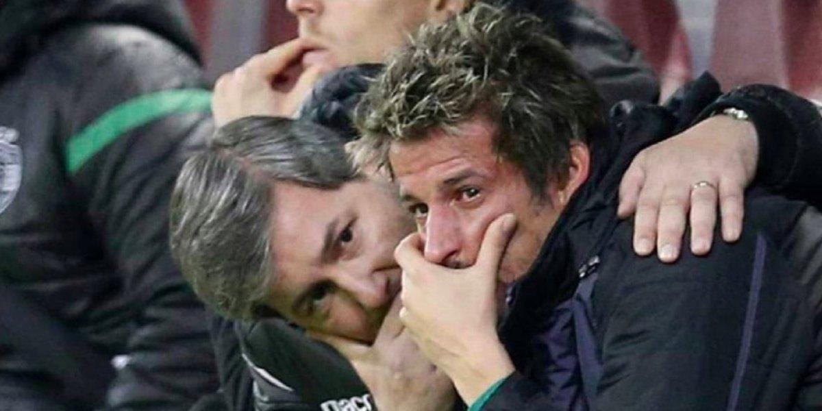 Fabio Coentrao, el futbolista que llora cuando sale de cambio