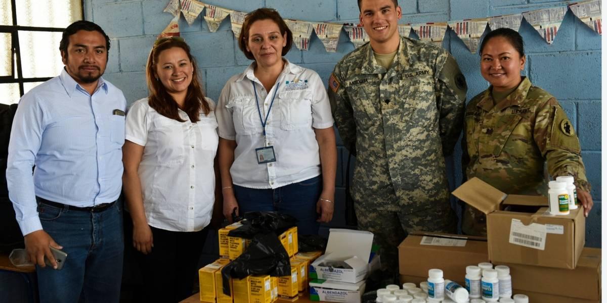 Ejército de EE.UU. coopera para brindar atención médica gratuita en Huehuetenango