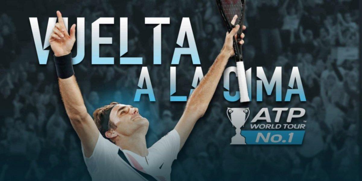 Su Majestad recupera el Trono: Roger Federer vuelve a ser el número uno del mundo