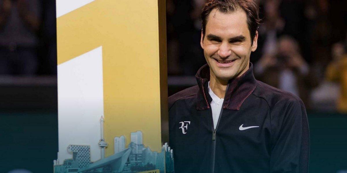 """Una nueva perla para su corona: los 10 mejores récord de """"Su Majestad"""" Roger Federer"""