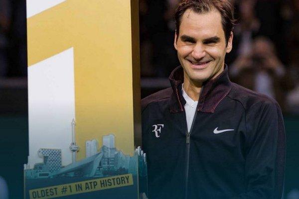 Roger Federer, el número uno más viejo de la historia / Foto: Henk Koster - ATP