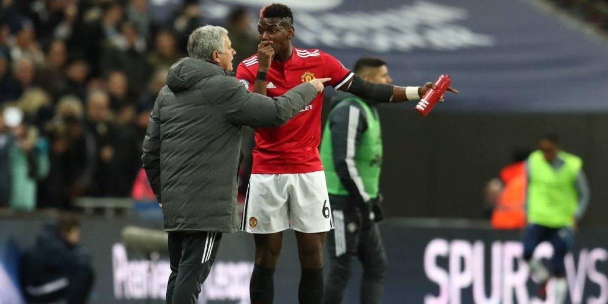 """Mourinho explotó por los rumores de su quiebre con Paul Pogba: """"No digan mierdas"""""""
