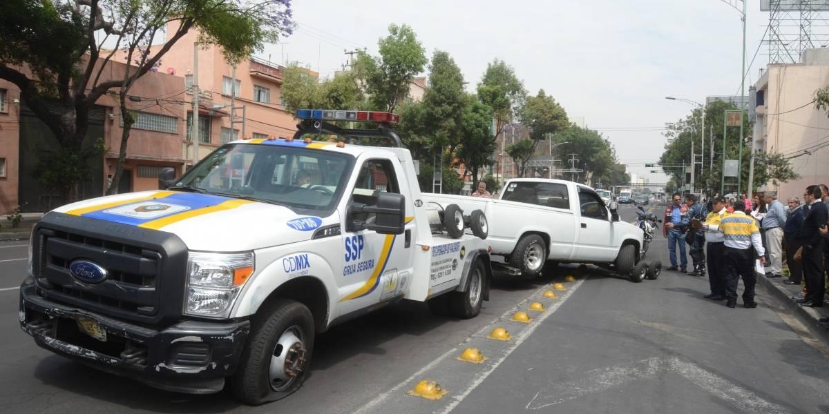 Grúas de Tránsito ya no podrán infraccionar a automovilistas en la CDMX