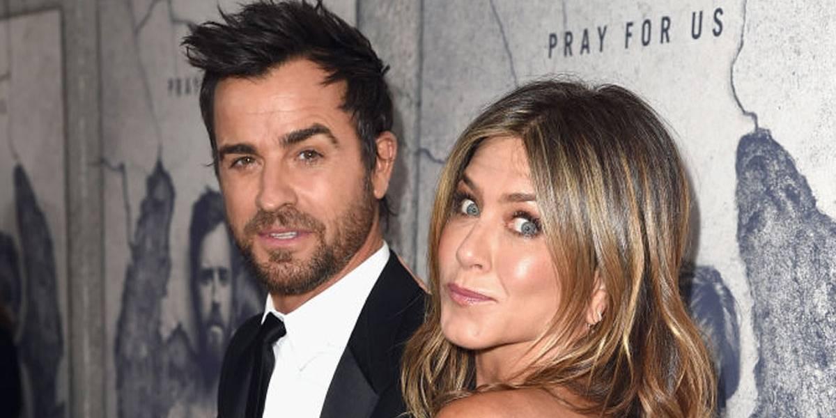 O motivo da separação de Jennifer Aniston e Justin Theroux. Spoiler: Brad Pitt não tem culpa