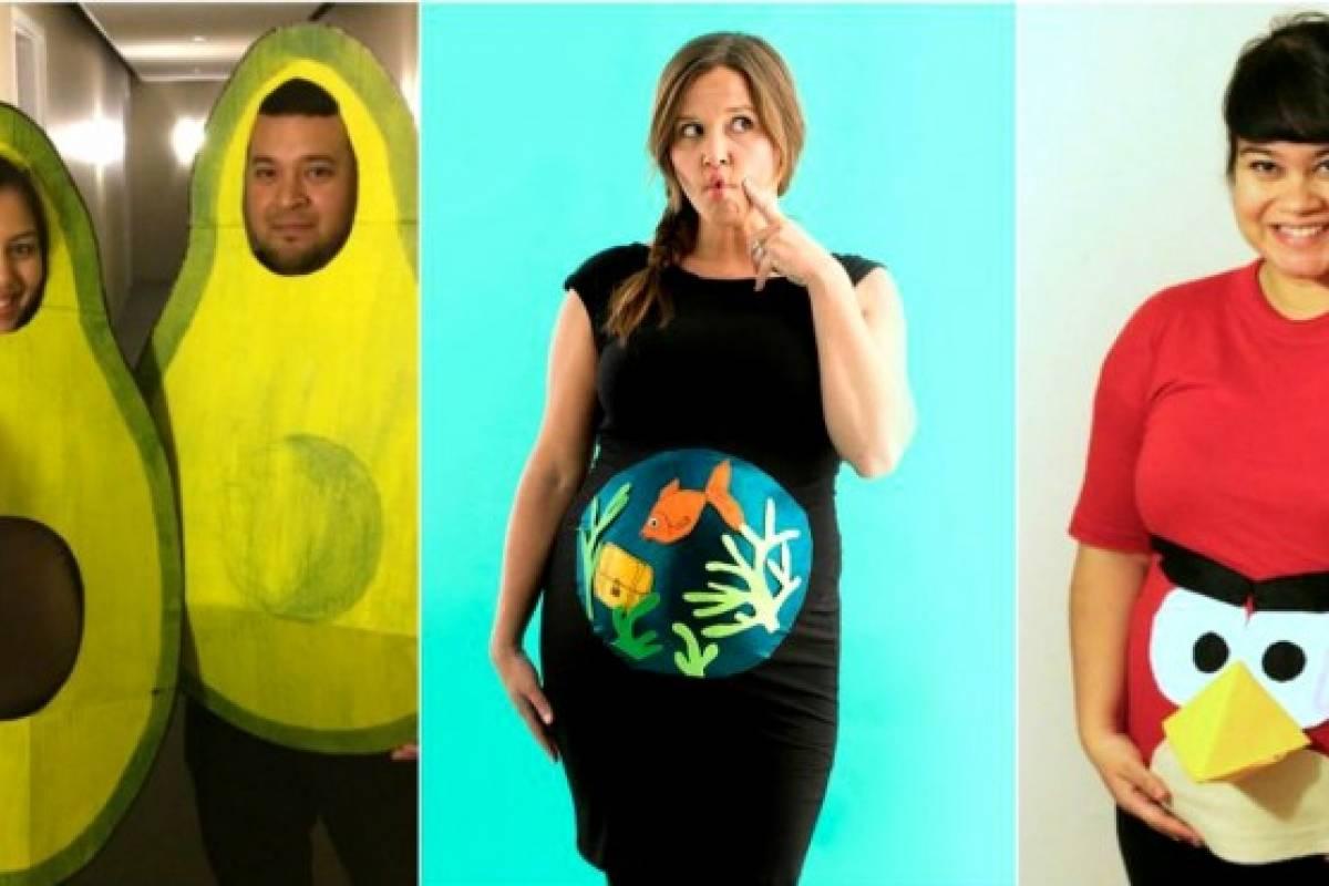 Ideas De Disfraces De Halloween Para Embarazadas Belelu Nueva Mujer - Disfraces-de-halloween-para-embarazadas