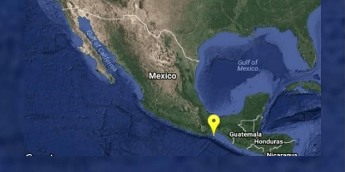 Se registra sismo de 4.9 grados al sur de Salina Cruz, Oaxaca