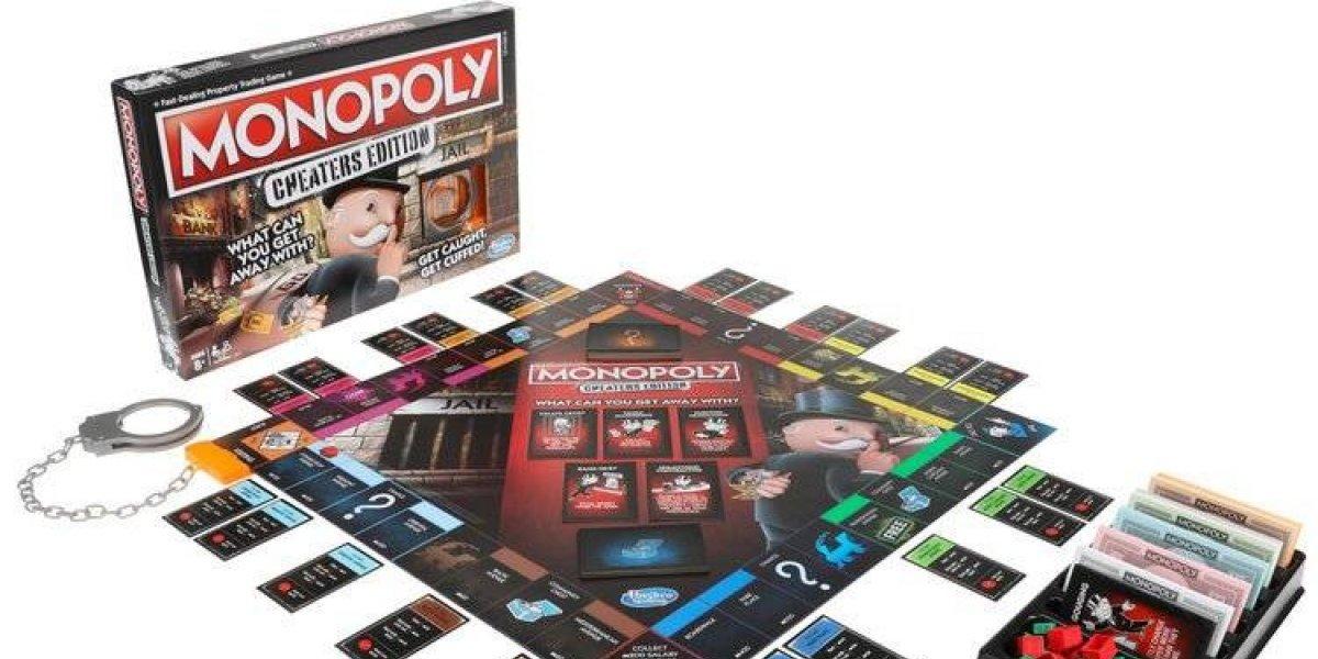 En esta edición de Monopoly ¡se vale robar y mentir!