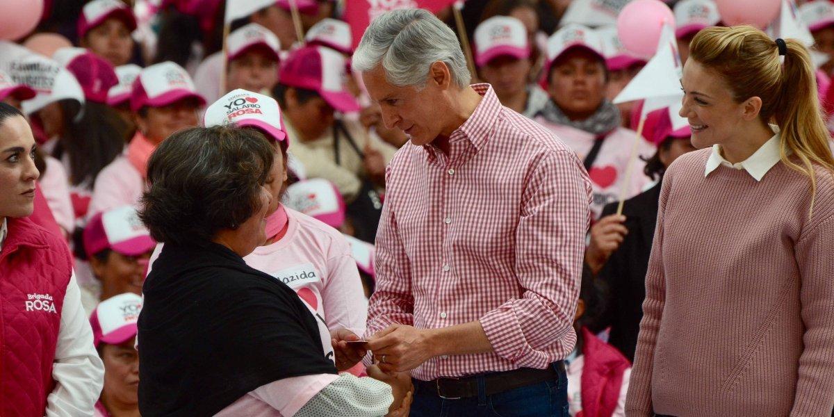 Entrega de Salario Rosa a amas de casa, compromiso de campaña: Del Mazo